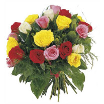 Bouquet of Roses in various colors
