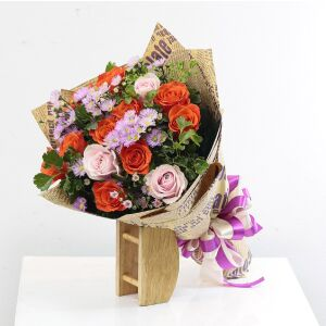 Rosy Mixed Bouquet