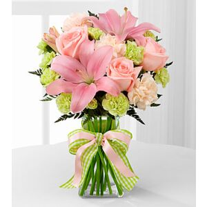 D7-4906 The Girl Power Bouquet by FTD - VASE INCLUDED
